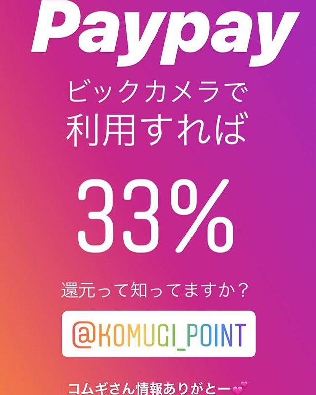 paypayをビックカメラで利用すれば「33%引き」になるの知ってますか?