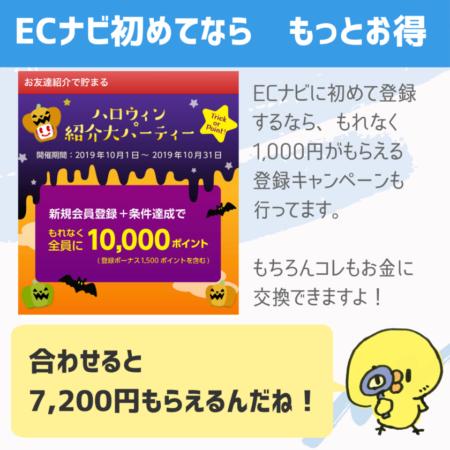 合わせると7200円